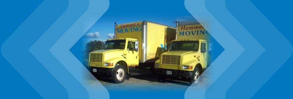 Hummel's Moving trucks